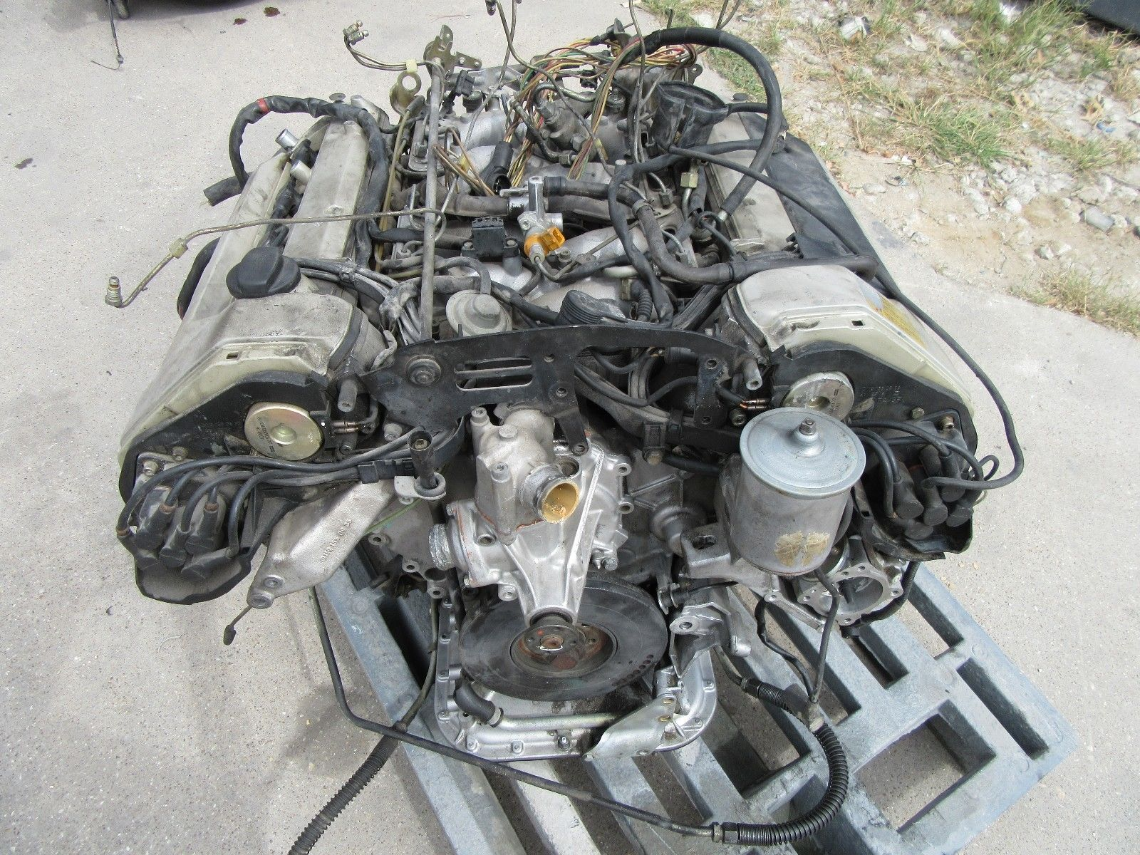90 91 92 mercedes benz r129 500sl sl 500 5 0l engine motor for Mercedes benz sl500 parts