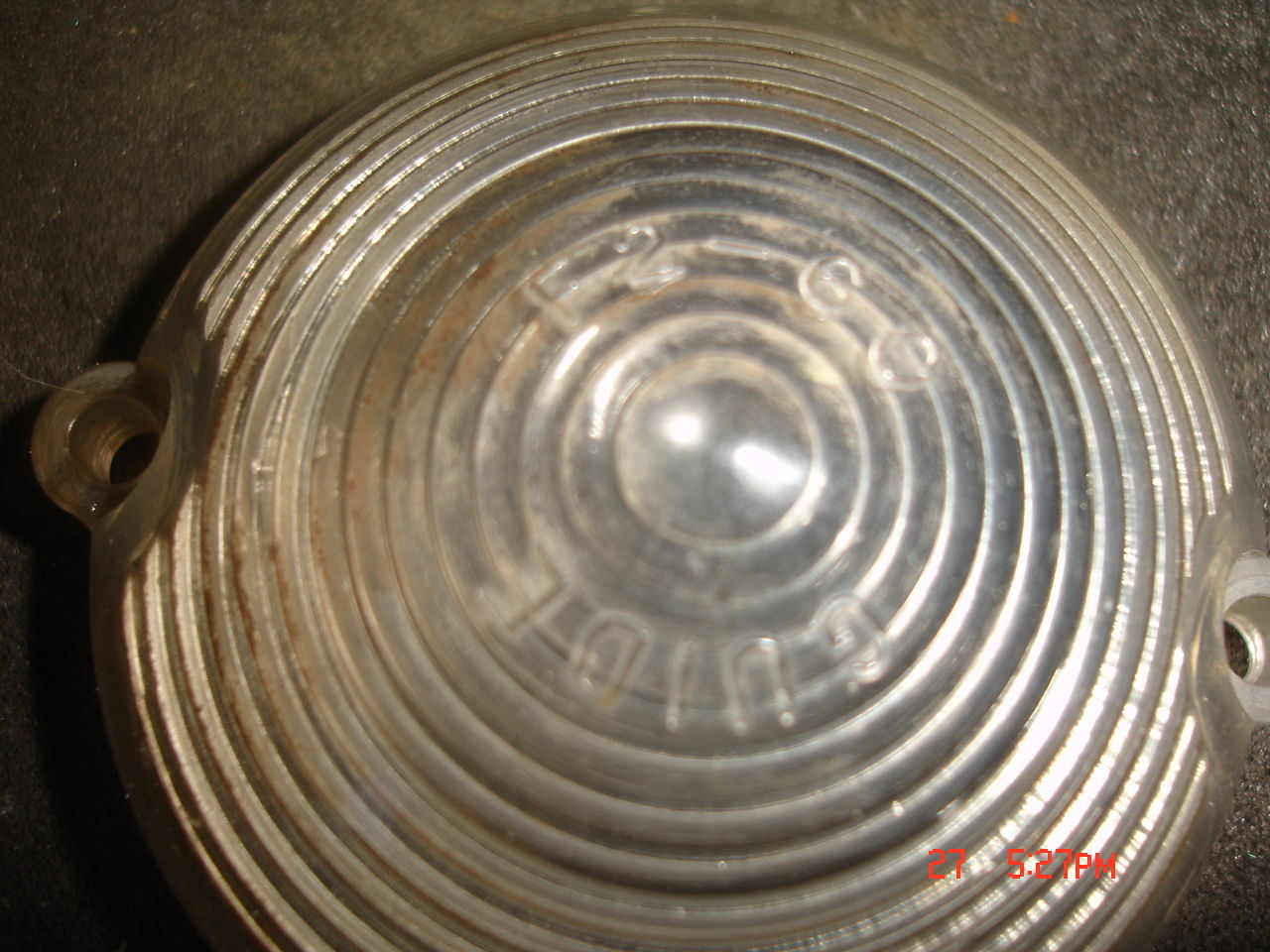 Guide F2-60 --1960 FULL SIZE  Pontiac turn signal lens   XC  Buy 1 or 2 5950982