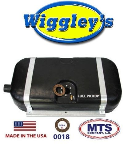 PLASTIC FUEL TANK MTS 0018 FITS 46-63 WILLYS STEEL BODY WAGON 15GALLON