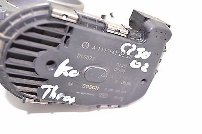 2002 MERCEDES W203 C230 KOMPRESSOR 2.3L ENGINE THROTTLE BODY 1111410325 A 111 141 03 25