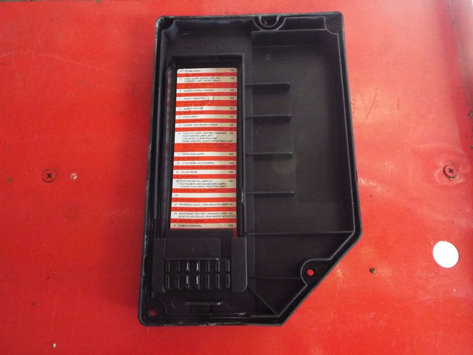 2003 volvo fuse box .1999-2000 volvo c70 s70 v70 engine bay fuse box cover ...
