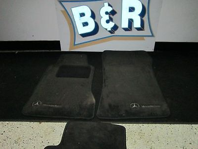 02 MERCEDES C240 ~ 3 Floor Mats ~ 2 Front and One Rear 3398757