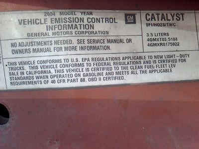 AC COMPRESSOR FITS 04-12 CANYON 9264015 682-00996 9264015