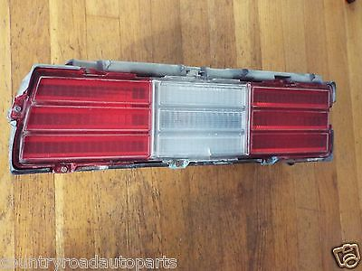 Original 1978 Chevrolet Impala Tail Light Lens-LH
