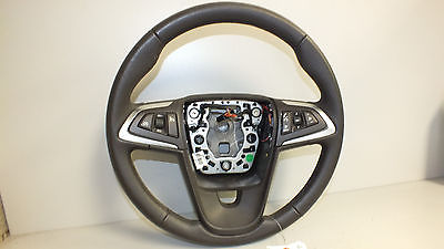 11 2011 SAAB 9-5 LEATHER STEERING WHEEL COCOA OEM#270