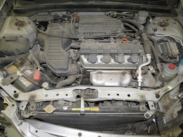 Honda civic radiator overflow bottle