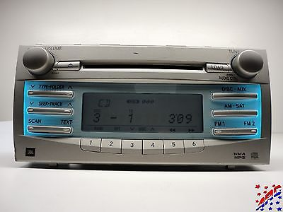 07 09 toyota camry factory oem jbl 6 disc cd changer mp3 player