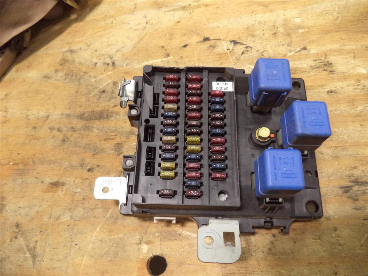 95 96 97 nissan maxima under dash fuse box at 3 0 relay factory stock se