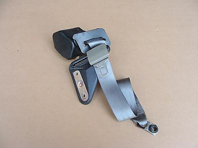 00-02 Camaro Z28 Firebird Trans Am WS6 Rear Seat Belt Retractor Pewter Gray LH