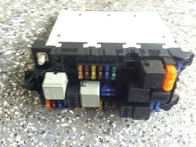 Mercedes w e amg sam relay fuse box