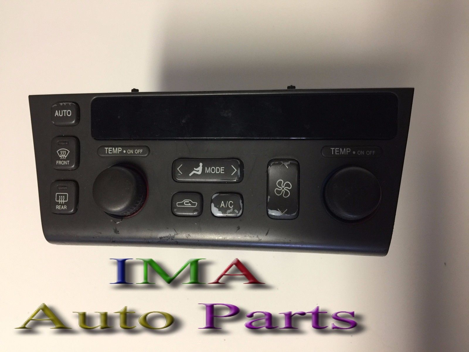 2001 CADILLAC SEVILLE HEATER AC TEMPERATURE CLIMATE CONTROL SWITCH PANEL OEM 09383026