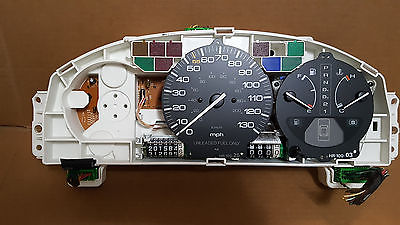 1992 HONDA accord automatic meter speedometer 201k OEM 92ha1