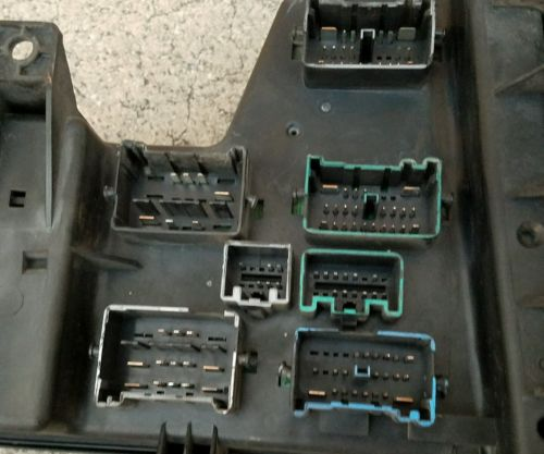 08 dodge 3500 fuse box 02-08 dodge ram integrated power module fuse box control ...