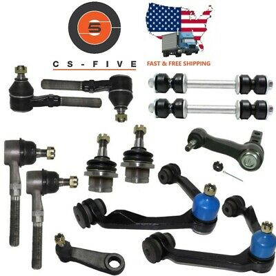 Ford F150 97-03 2WD Control arm Ball joint Tie rod end link idler arm 2.48