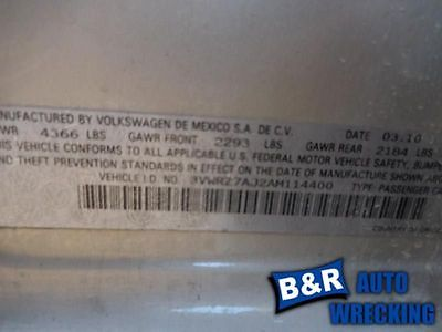 07 08 09 10 11 12 13 14 15 16 VW JETTA STEERING GEAR/RACK 8241221 551-50181 8241221