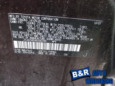 07 08 09 10 11 TOYOTA CAMRY AIR FLOW METER 9157749 336-60671 9157749