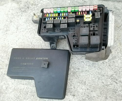 08 dodge caliber fuse box 02-08 dodge ram integrated power module fuse box control ...