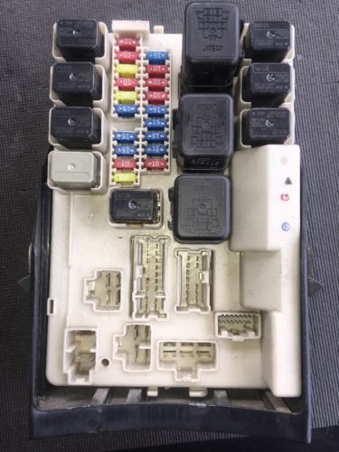 05 nissan 350z manual oem power distribution ipdm module ... 350z fuse box