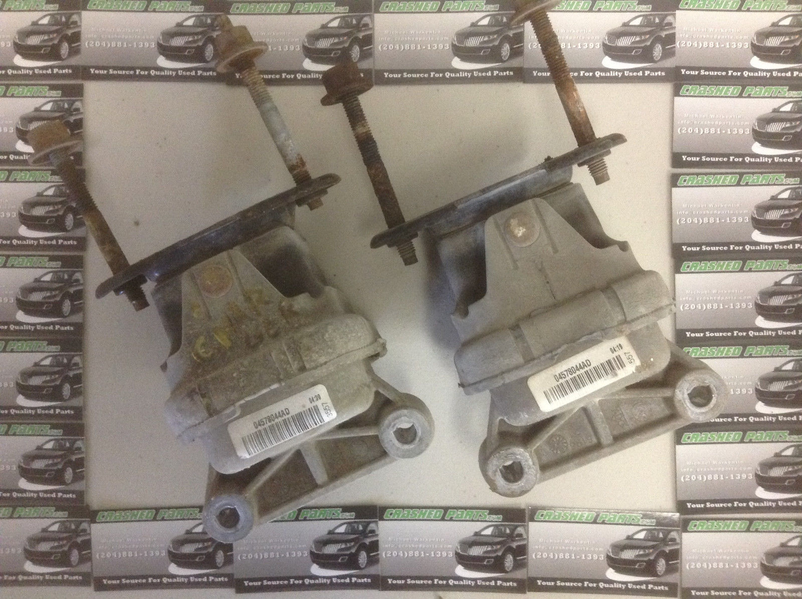 Dodge Charger Engine Mounts P/N 04778044AD