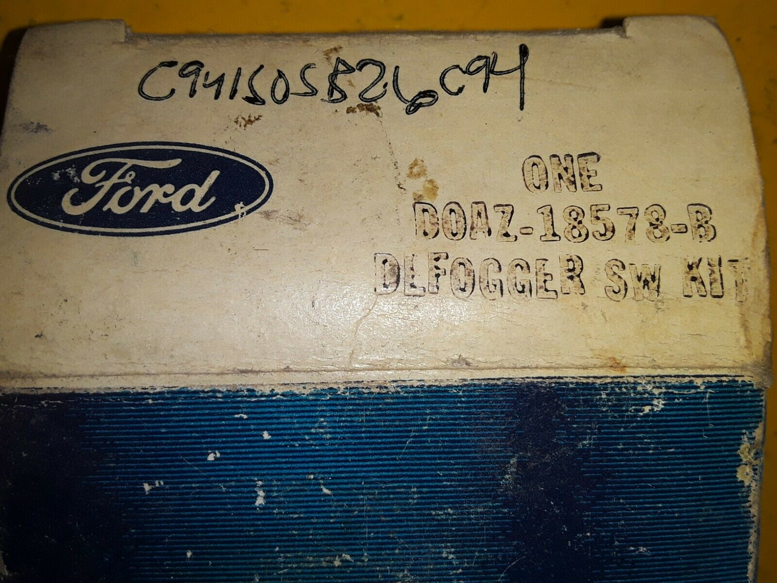 1968 - 1971 FORD GALAXIE MUSTANG TORINO FAIRLANE DEFOGGER SWITCH D0AZ-18578-B Does not apply
