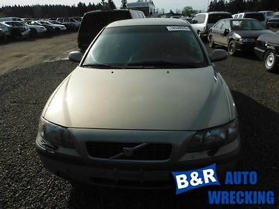 01 02 03 04 VOLVO S60 TURBO/SUPERCHARGER 2.4L ENGINE ID 8601692 7476797