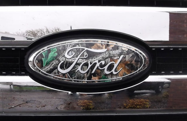 Ford F Camo Vinyl  Grill   Rear Emblem Coversdecals - F250 decals