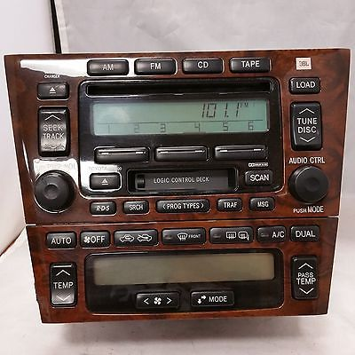2000 2001 2002 2003 2004 Toyota Avalon Factory Stereo 6 Disc Radio Used Oem 236