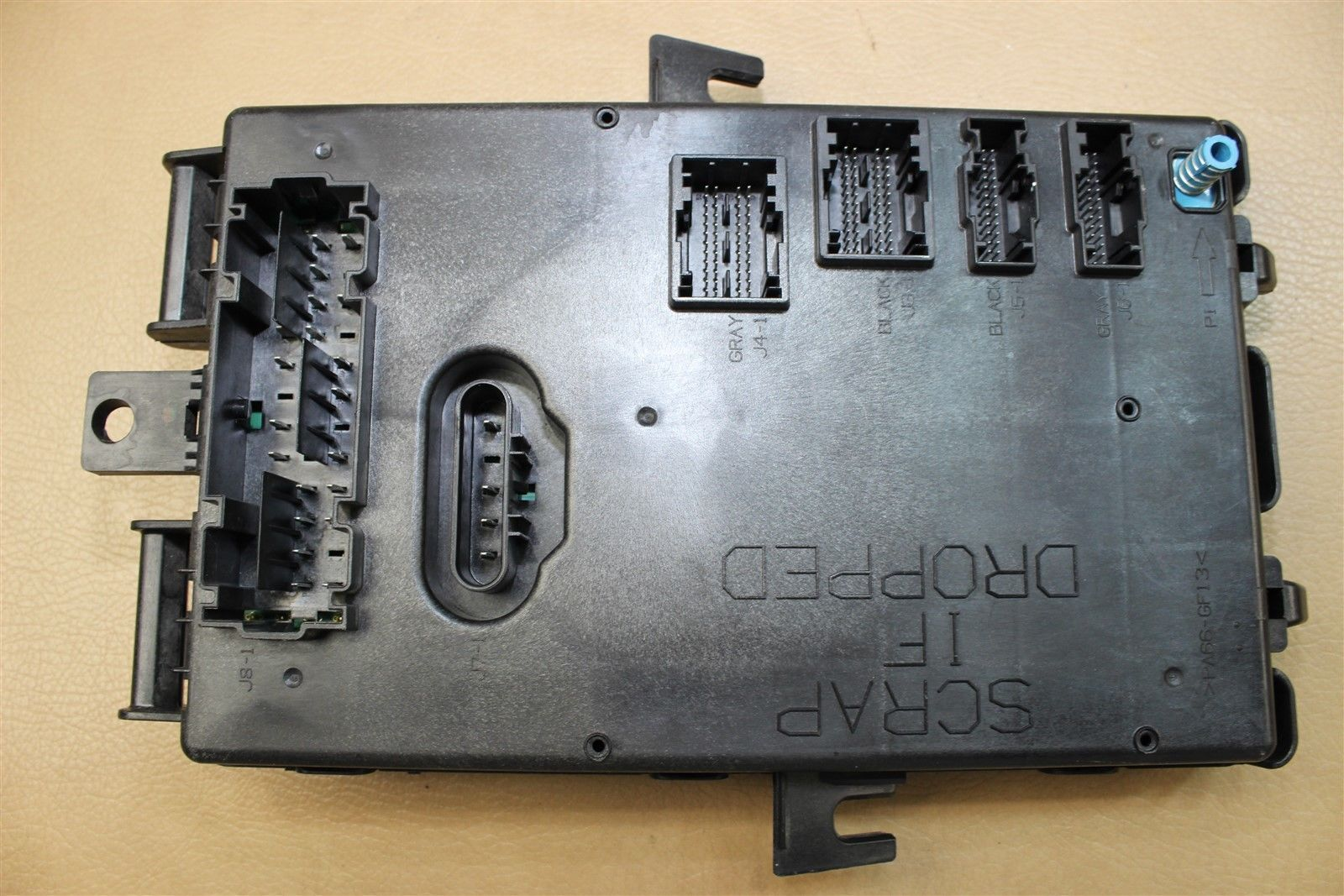 05 06 Ford Mustang Interior Fuse Box Body Control Module Bcm 5r3t 2006 14b476