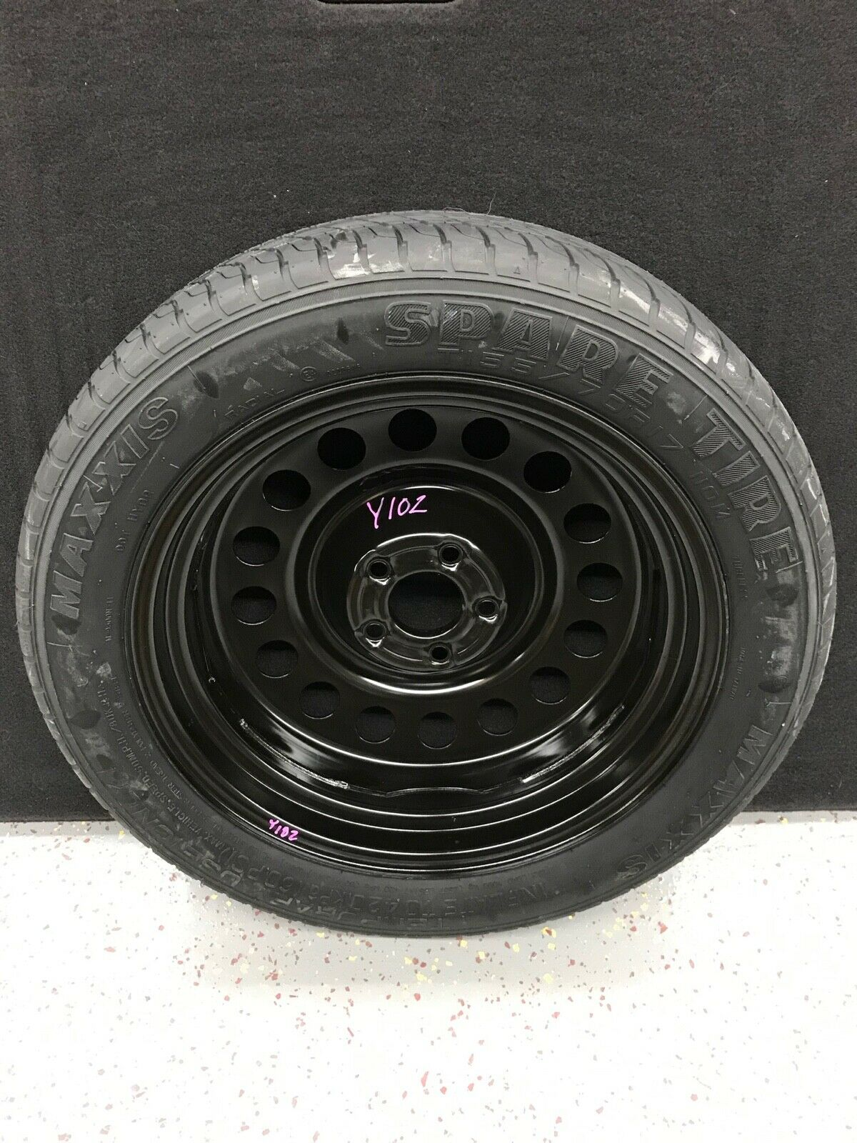 Maxxis Ford Escape Part T 155 / 70 / R17 110M Donut Steel Spare Tire Wheel  Does not apply