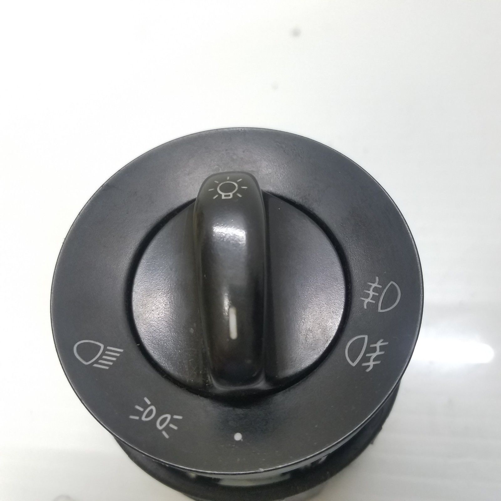2003-2006 PORSCHE CAYENNE BLACK HEADLIGHT SWITCH KNOB 7L5941531 OEM 7L5941531B Po3Cay