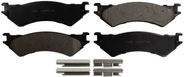 Disc Brake Pad Set-ProSolution Semi-Metallic Brake Pads Rear Monroe FX802
