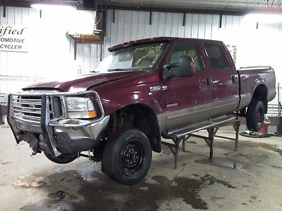 2004 FORD F350SD PICKUP 80505 MILES STEERING COLUMN 2746673