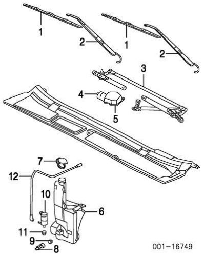 1997 Dodge Caravan Windshield Wiper Wiring Diagram on fuse box diagram for 2006 dodge ram 1500