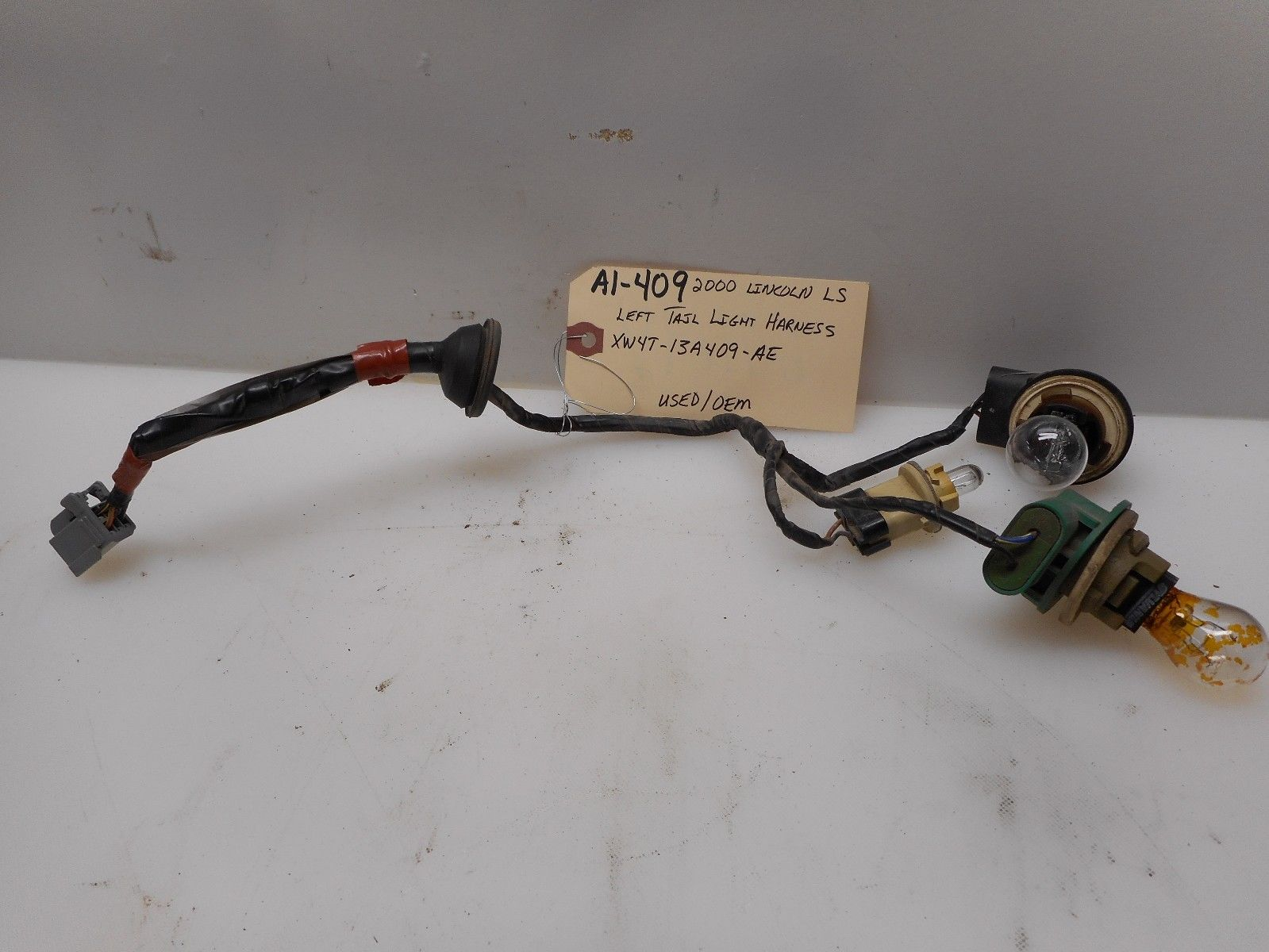 c320 tail light wiring harness 2000 lincoln ls left driver <em>tail< em> <em>