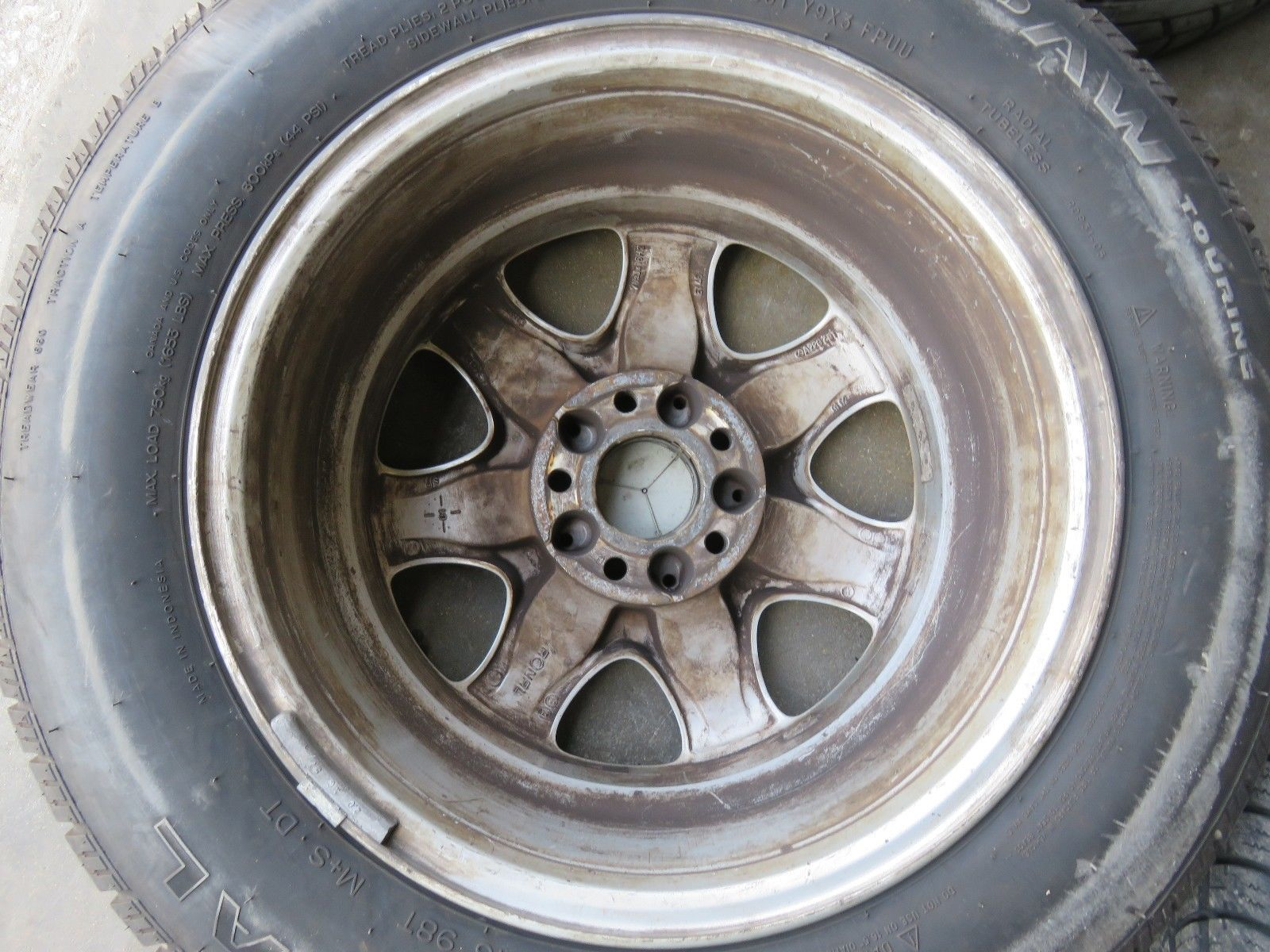 16 mercedes benz w220 s class genuine 00 06 s430 s500 for Mercedes benz wheel and tire protection