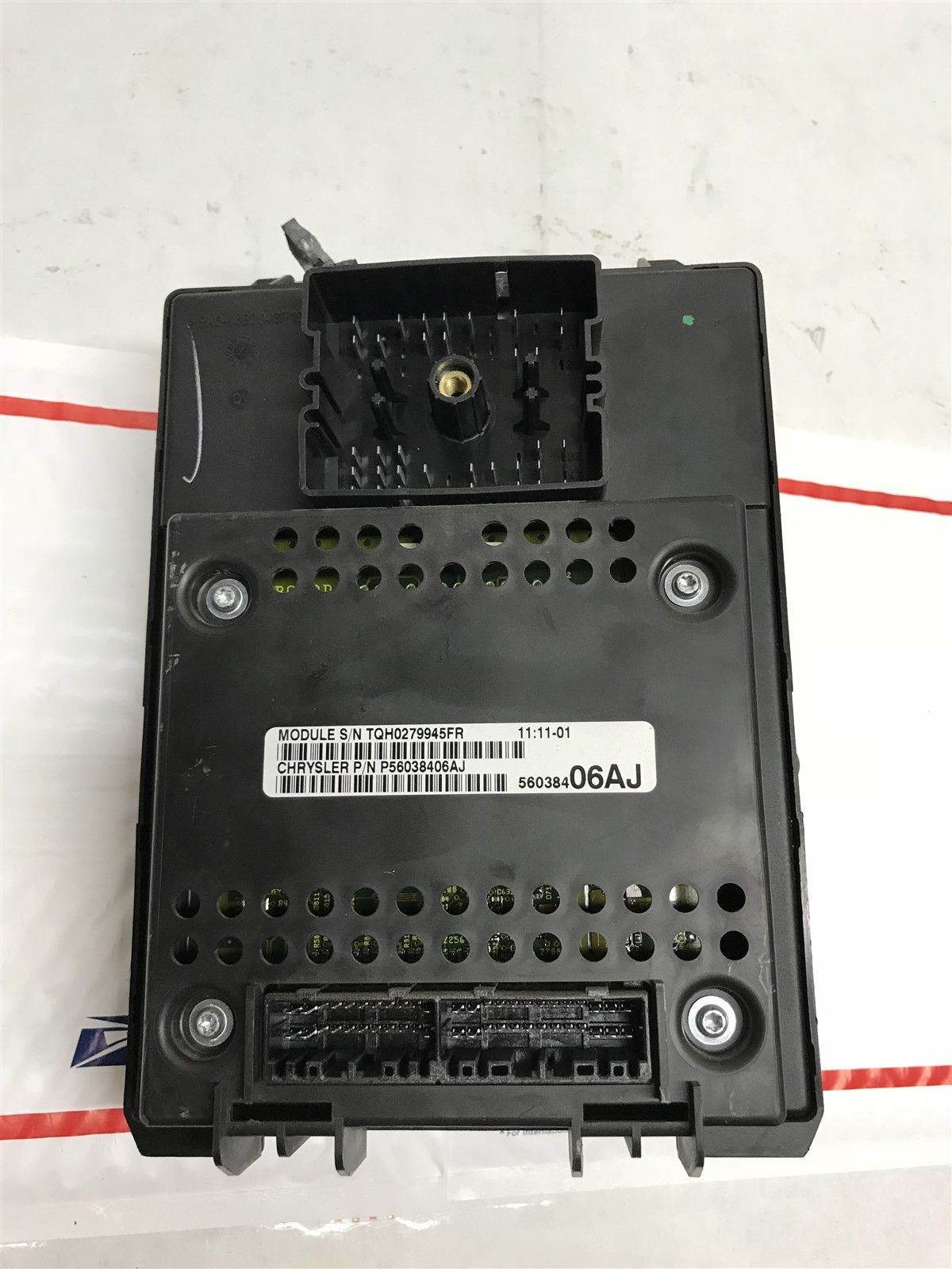 1999 01 Jeep Grand Cherokee Body Control Module Fuse Box Bcm Bcu Oem Will Not Start 56038406aj Does