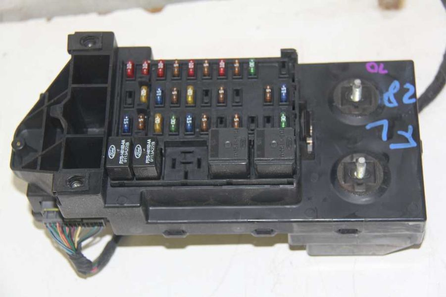 1995 ford f 150 fuse box 99 ford f-150 f150 xl34-14a067-bb 4x2 main engine fuse box panel relay ford f 150 fuse box engine #4