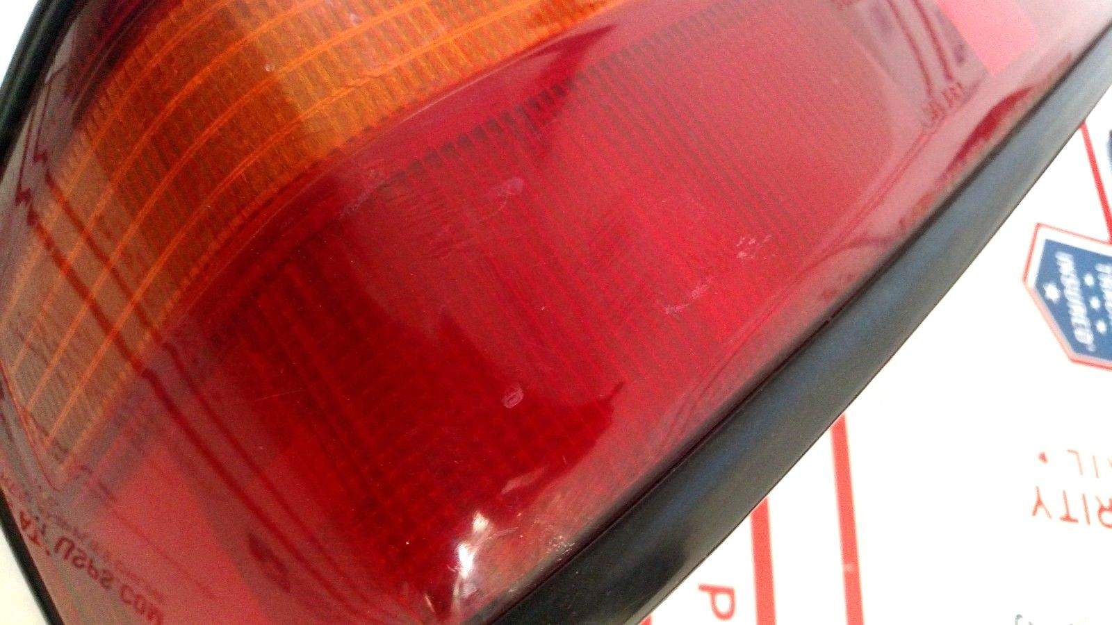90-91 Honda Civic 4-door Sedan 3 Piece Rear Tail Light Set OEM EF Garnish LH RH Does not apply