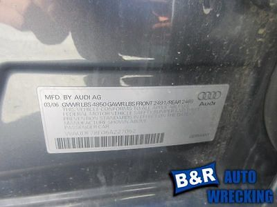 05 06 AUDI A4 AC COMPRESSOR 4 CYL EXC. CONV FROM VIN 400001 9073872 682-59069 9073872