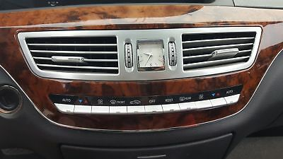 2008 MERCEDES S550 FRONT HEATER AC CLIMATE CONTROL