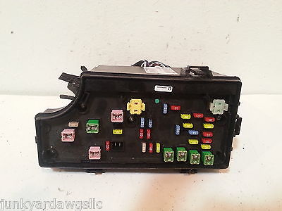 2011 dodge avenger bcm fuse relay box block panel used oem. Black Bedroom Furniture Sets. Home Design Ideas
