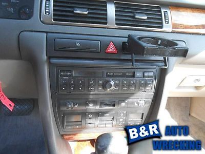 TEMPERATURE CONTROL SYSTEM W/HEATED SEATS FITS 99-02 AUDI A6 4558422
