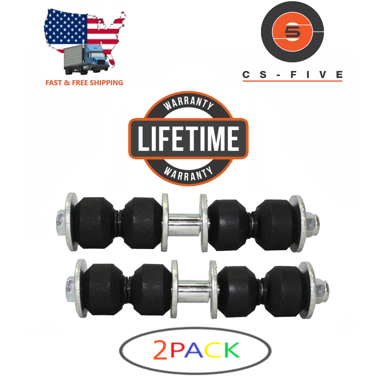 LIFETIME 2 New Front Sway Bar End Stabilizer Link for CHEVY CLASSIC 2004 - 2005  SL232HD