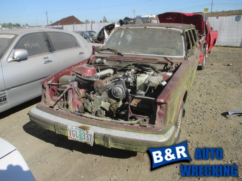 AUTOMATIC TRANSMISSION DIESEL FITS 79-85 VOLVO 240 SERIES 9591904