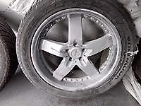 Used Armano Rims and Hankook Ventus tires set of 4  275/45/20