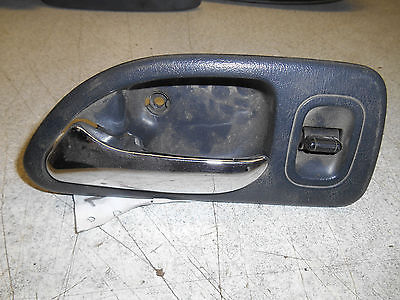 Inside Door Handle LH 1997 Honda Accord, rear, chrome