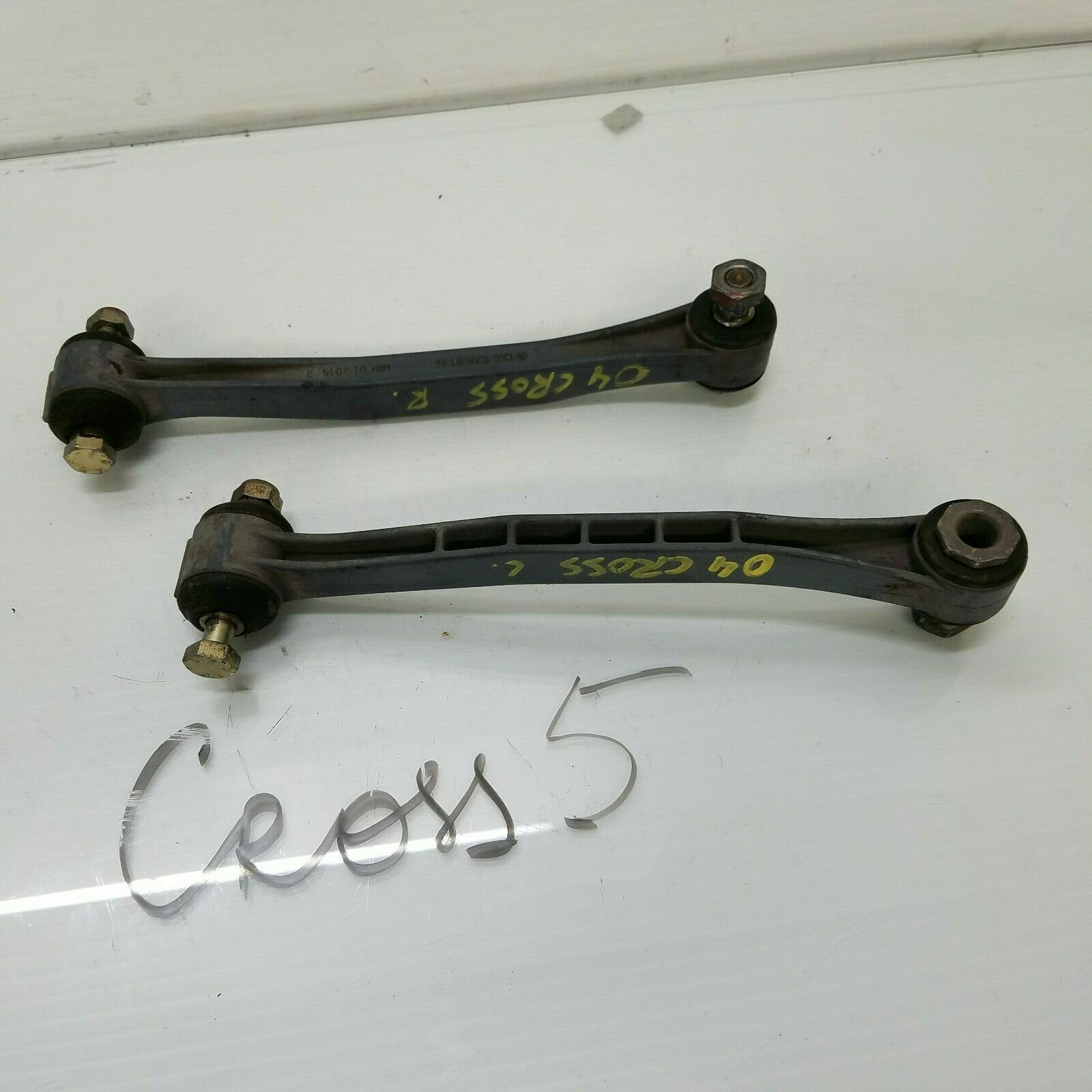 2004-2008 CHRYSLER CROSSFIRE REAR RIGHT & LEFT SWAY BAR LINKS PAIR 1243260116 Does not apply cross5