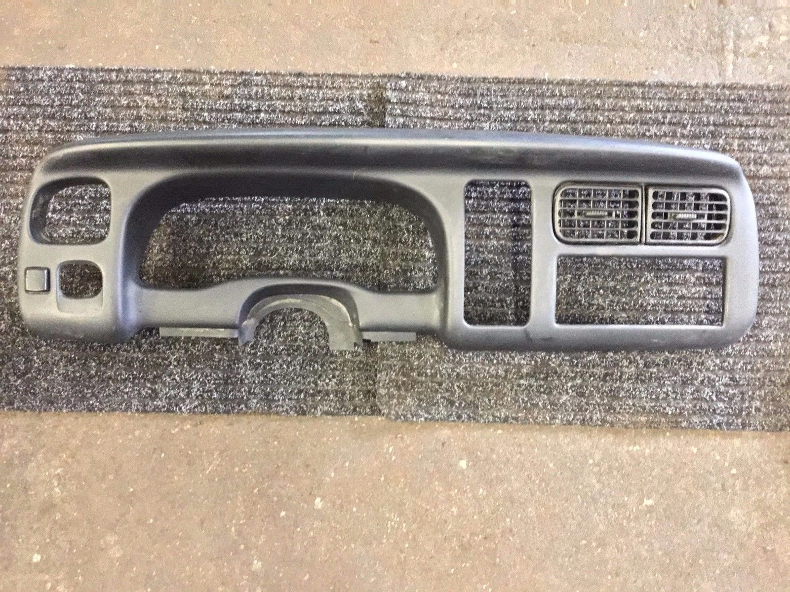 Dodge Dakota Durango Instrument Cluster Radio Dash Trim 1997 1998 1999 2000  55115430 3060d
