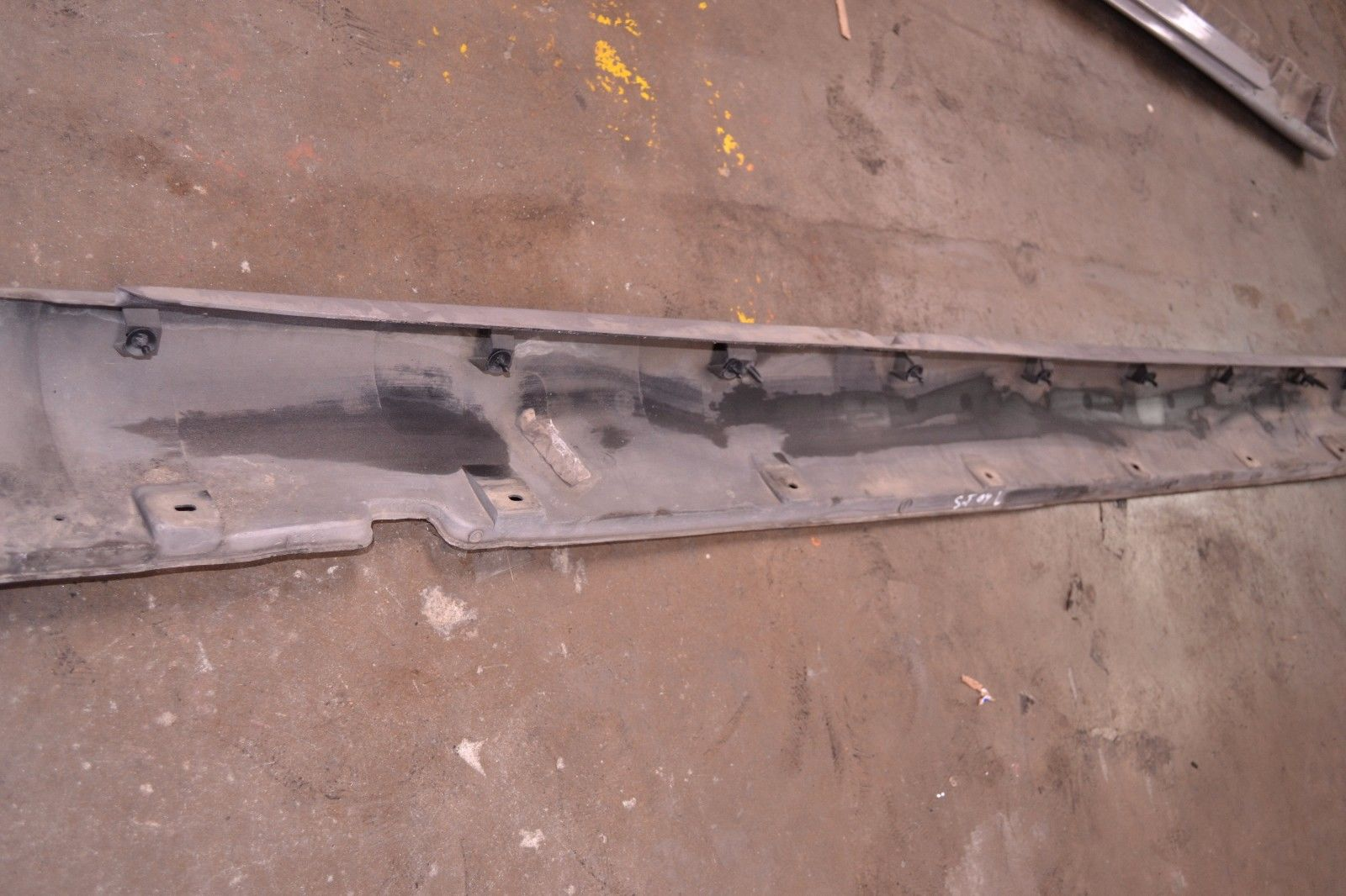 2000-2004 JAGUAR S-TYPE LEFT DRIVER SIDE SKIRT SILVER XR83510154 OEM XR83510154
