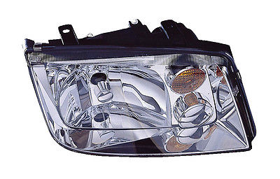 Replacement Depo 341-1106R-AF-Y Passenger Headlight For 94-05 Volkswagen Jetta